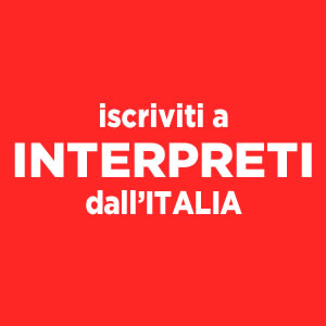 Interpreti dall'Italia