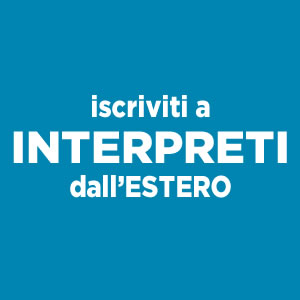 Interpreti dall'Estero